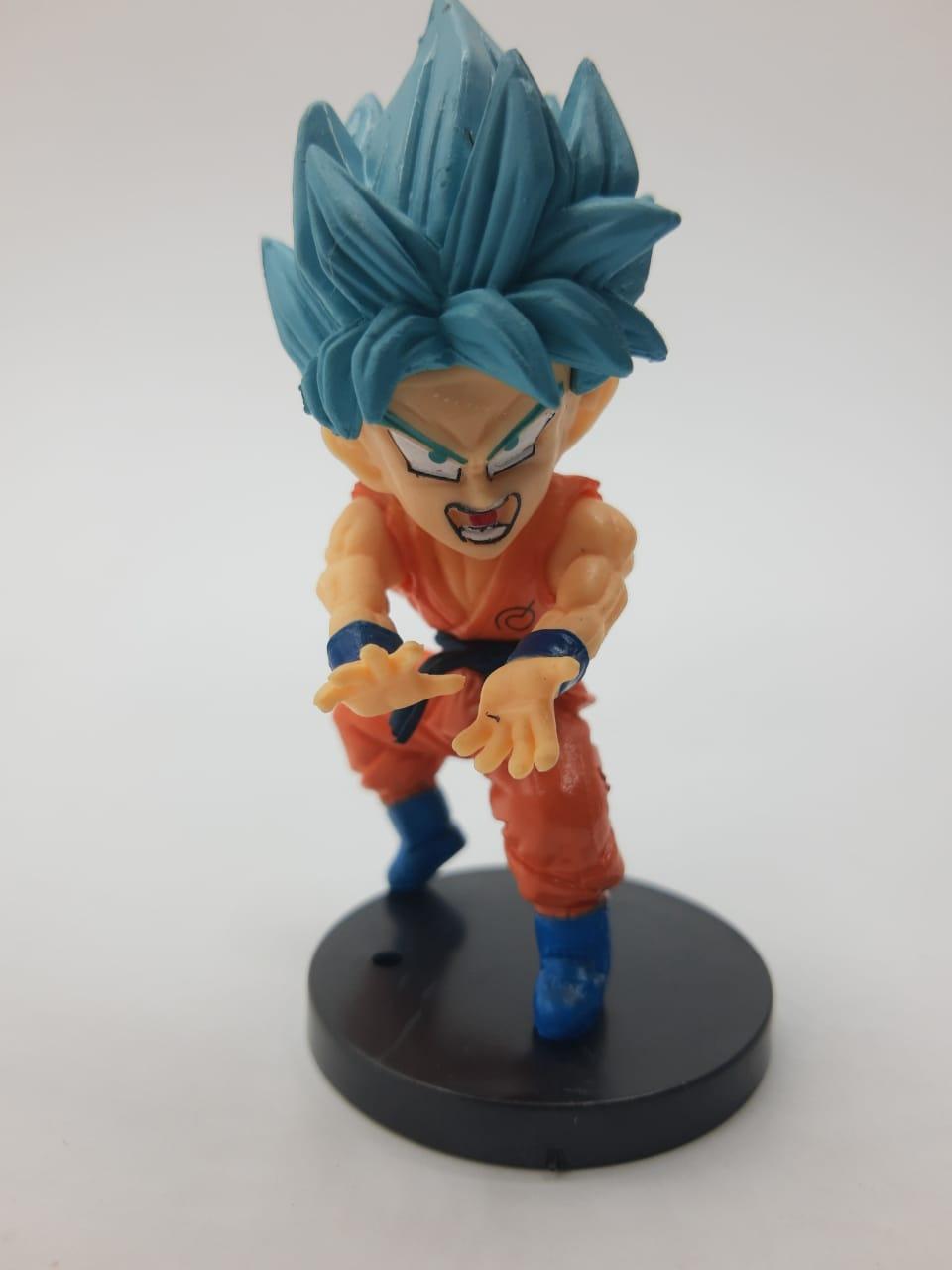 Mini Estátua Goku Super Sayajin Blue: Dragon Ball Super