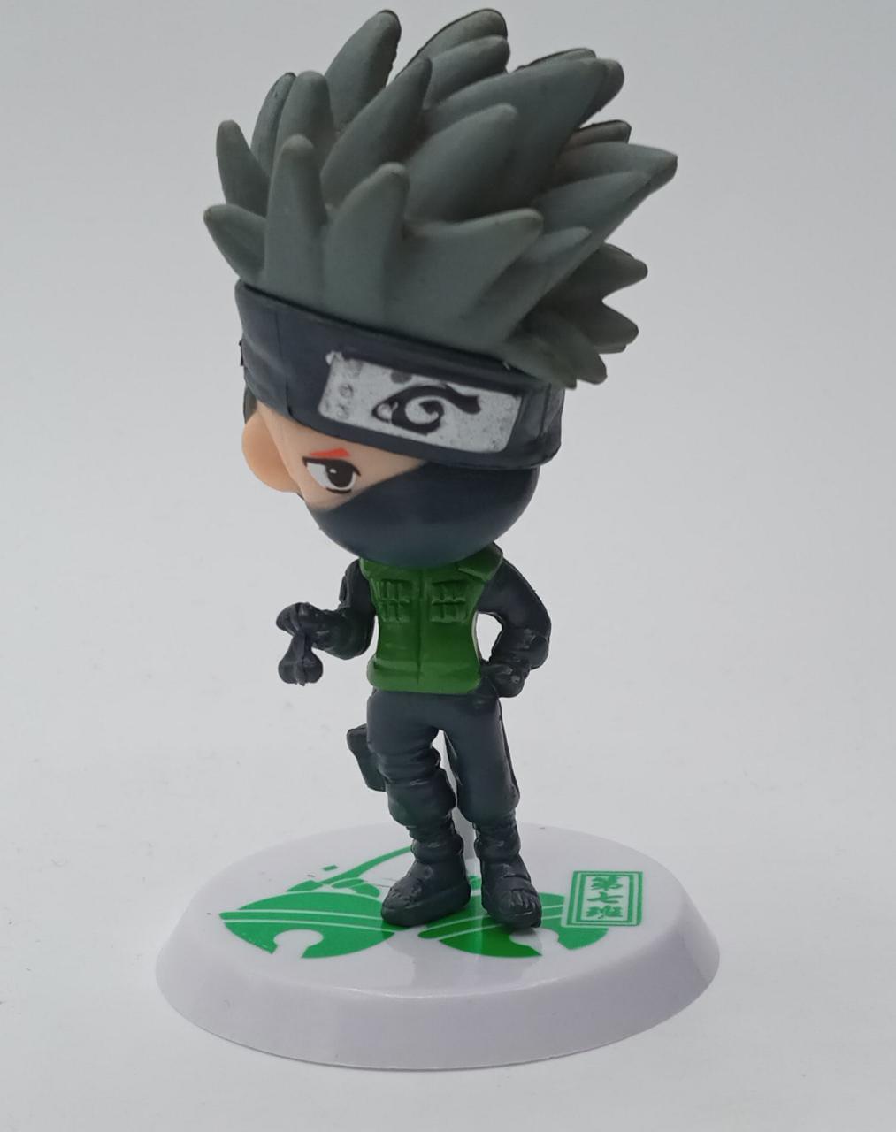 Mini Estátua Kakashi Hatake Cute: Naruto Clássico - Anime Mangá