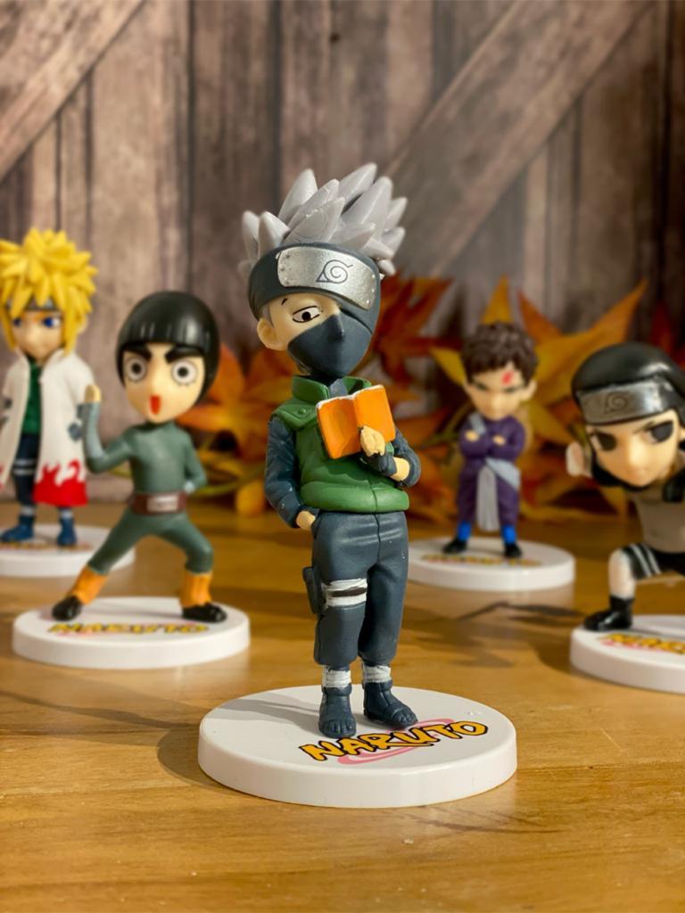 Mini Estátua Kakashi Hatake: Naruto Clássico