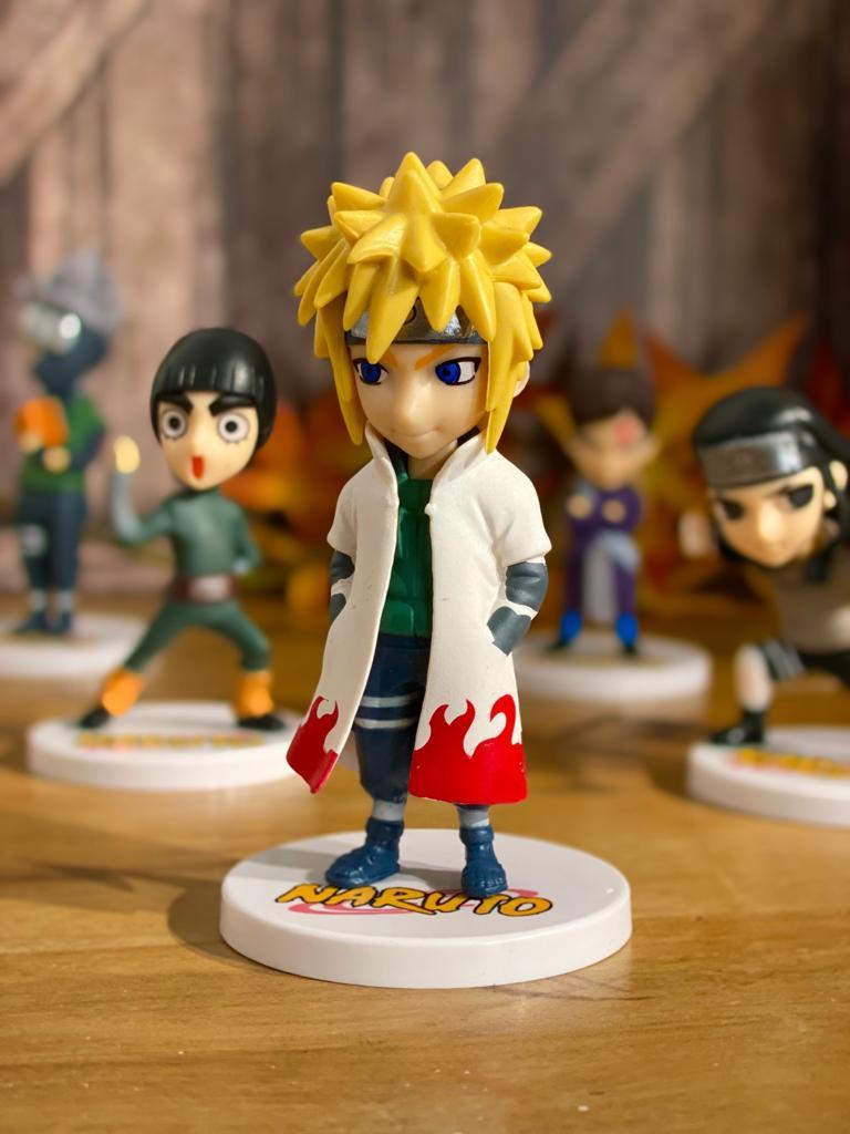 Mini Estátua Minato Namikaze: Naruto Clássico