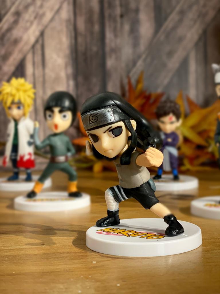 Mini Estátua Neji Hyuga: Naruto Clássico  - Toyshow Geek e Colecionáveis Tudo em Marvel DC Netflix Vídeo Games