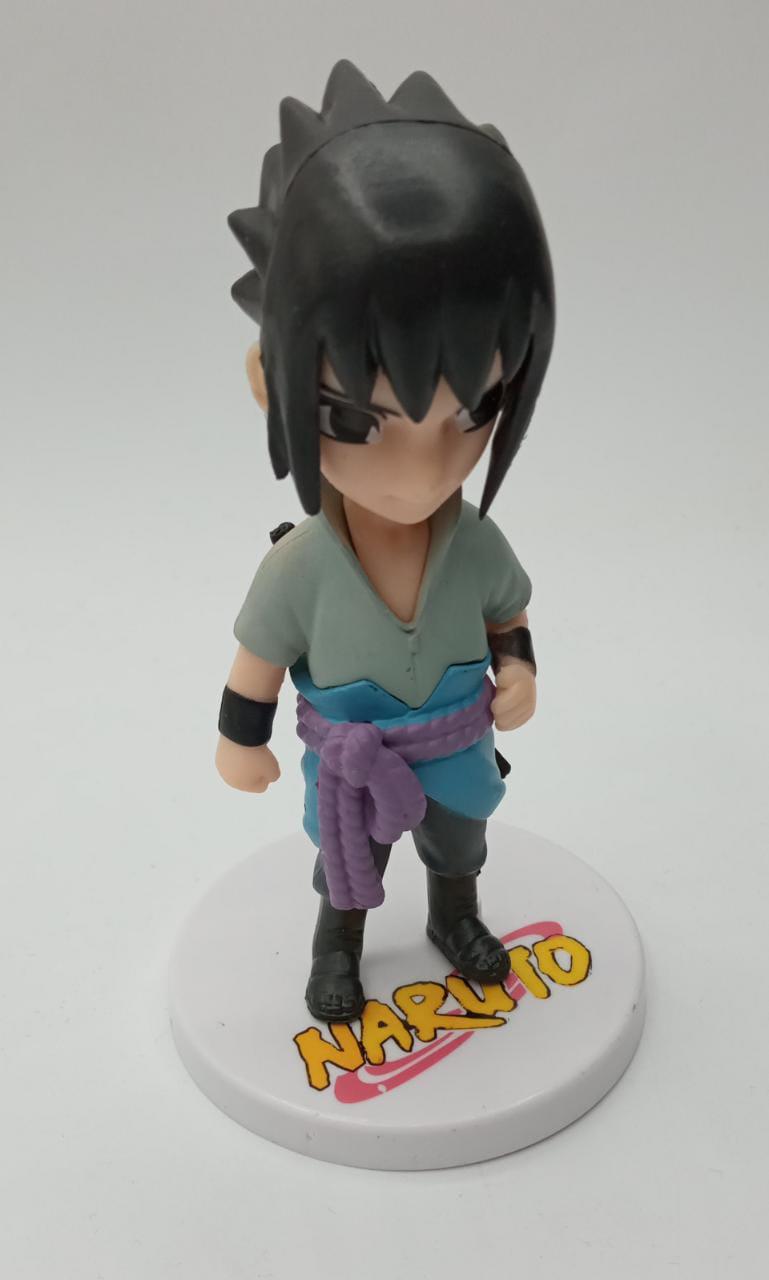 Mini Estátua Sasuke Uchiha: Naruto Shippuden