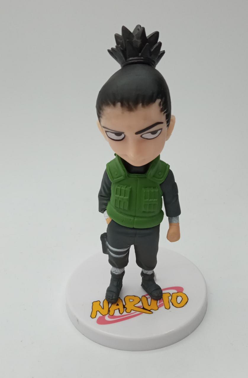 Mini Estátua Shikamaru Nara: Naruto Shippuden