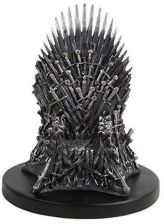 Mini Estátua Trono de Ferro (Iron Throne): Game of Thrones Réplica - Dark Horse (Exclusivo Toyshow)