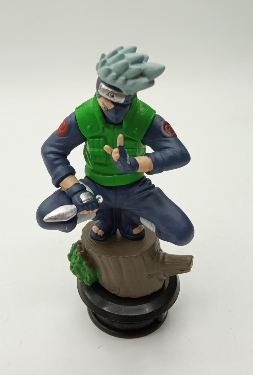 Mini Estátua Xadrez Kakashi: Naruto Shippuden