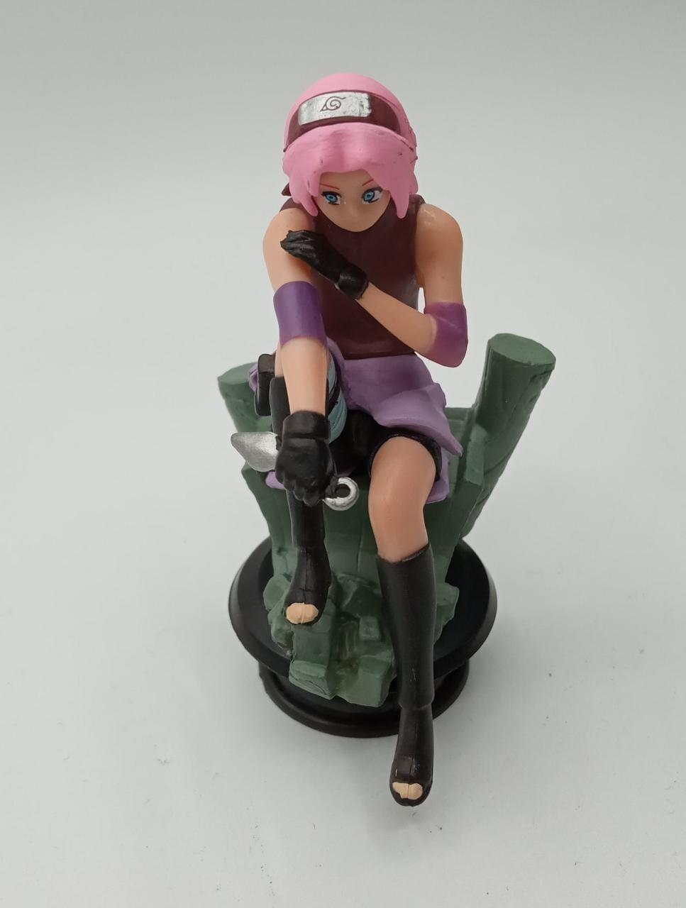 Mini Estátua Xadrez Sakura: Naruto Shippuden
