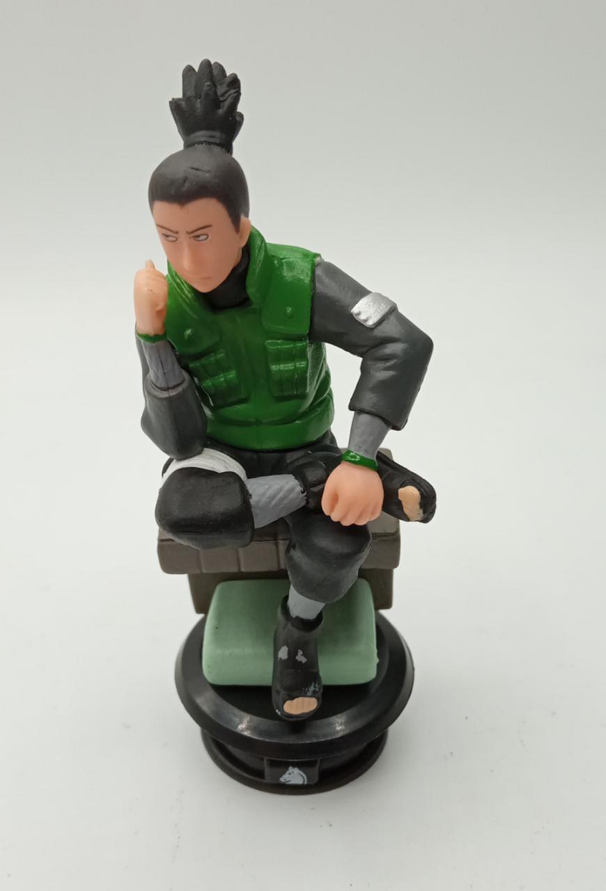 Mini Estátua Xadrez Shikamaru: Naruto Shippuden
