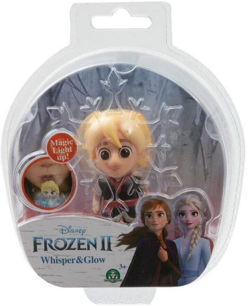 Mini Figura Assopre Para Iluminar! (Whisper e Glow) Kristoff: Frozen II - Disney