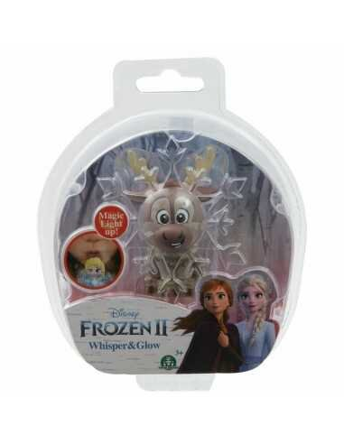 Mini Figura Assopre Para Iluminar! (Whisper e Glow) Sven: Frozen II - Disney