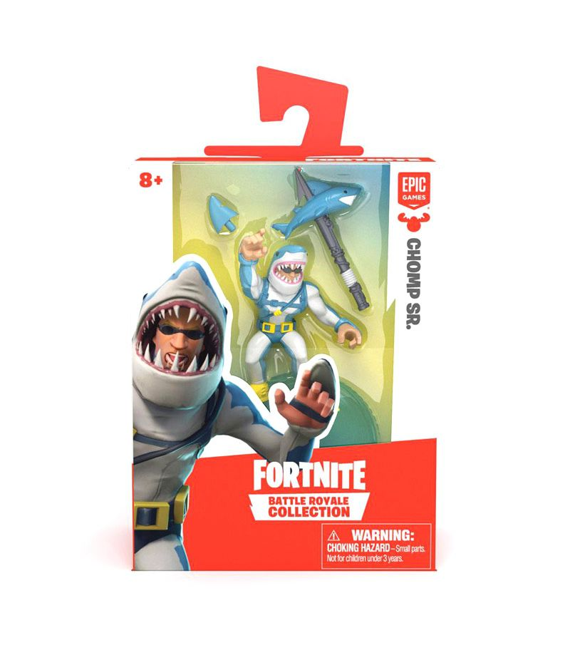 Mini Figura Chomp Sr. (Battle Royale Collection): Fortnite