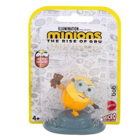 Mini Figura Colecionável Bob: Minions O Surgimento de Gru The Rise of Gru - Mattel