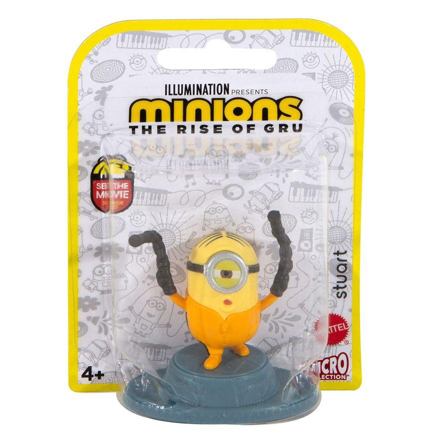 Mini Figura Colecionável Stuart: Minions O Surgimento de Gru The Rise of Gru - Mattel