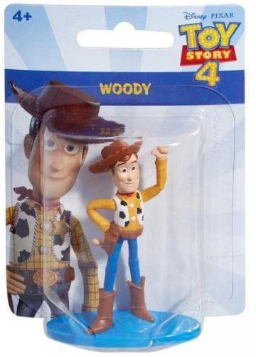 Mini Figura Colecionável Woody: Toy Story Disney Micro Collection - Mattel