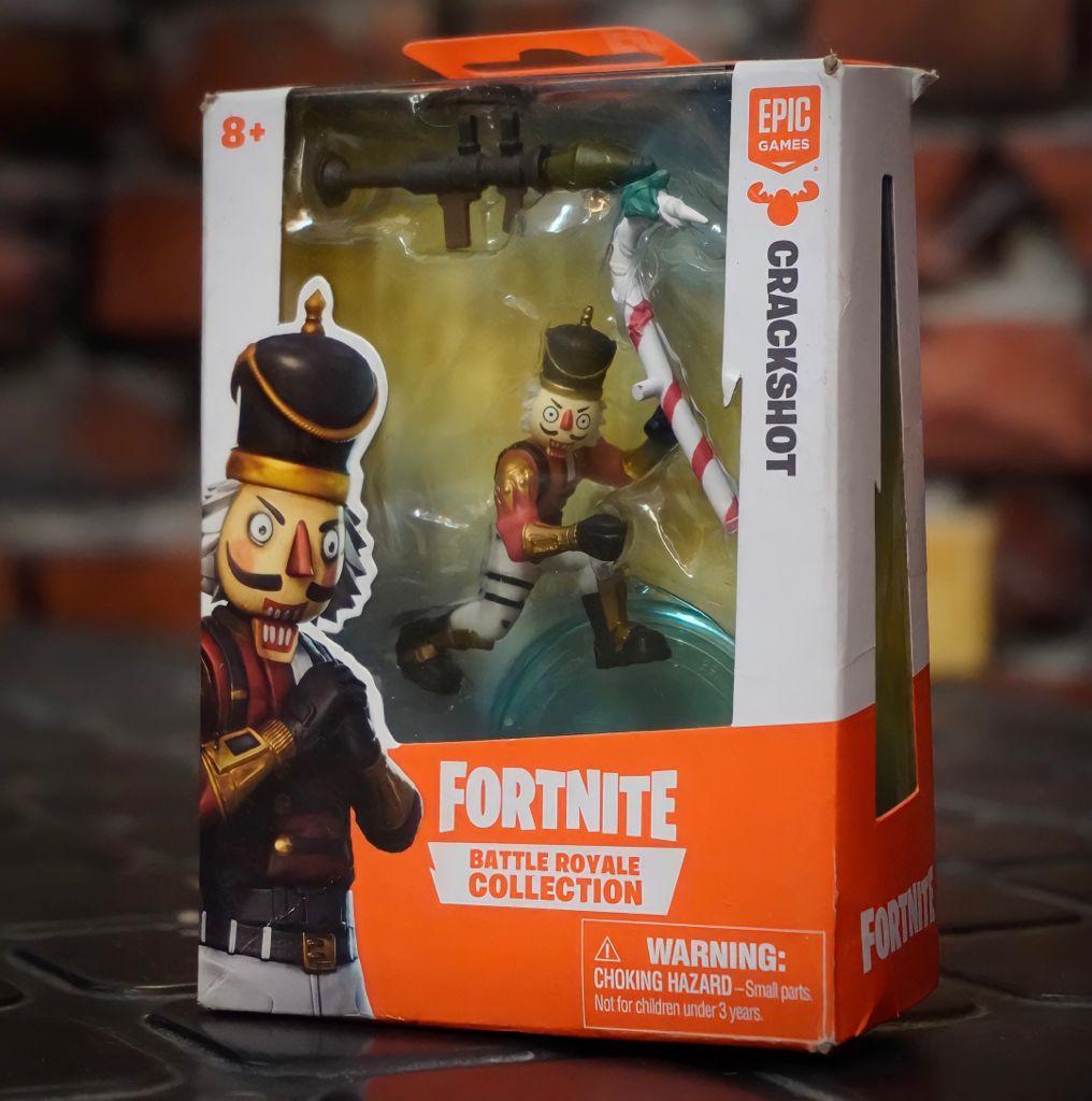 Mini Figura Crackshot (Battle Royale Collection): Fortnite
