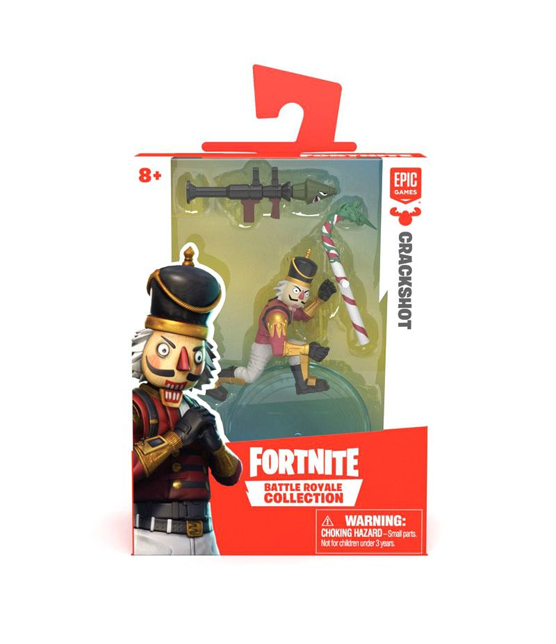 Mini Figura Crackshot (Battle Royale Collection): Fortnite
