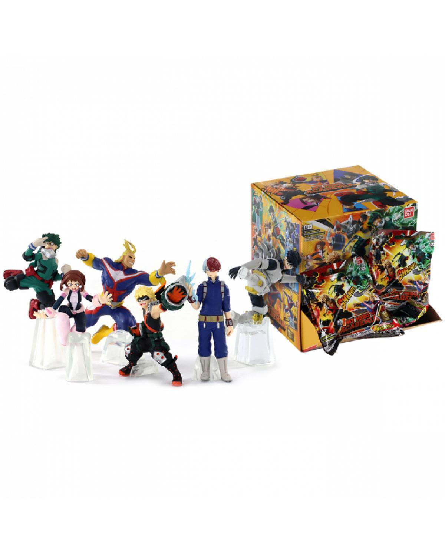 Mini Figura My Hero Academia Smash: Mystery Pack Vol.1 Boku No Hero Anime Mangá - Banpresto Bandai