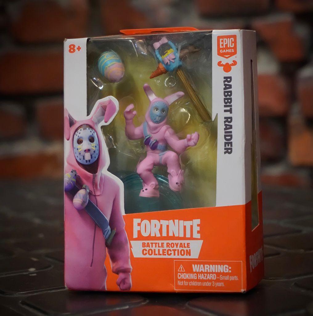Mini Figura Rabbit Raider (Battle Royale Collection): Fortnite