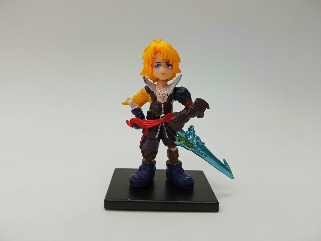 Mini Figura Tidus: Final Fantasy X (4 cm)