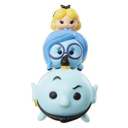 Mini Figuras Alice (134), Tristeza (353) & Gênio (327): Disney Tsum Tsum Series 3