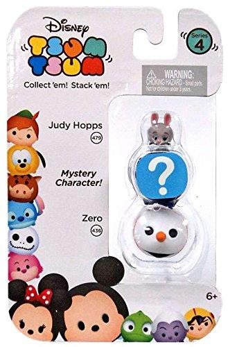 Mini Figuras Judy Hopps (479), Surpresa & Zero (436): Disney Tsum Tsum Series 3
