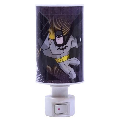 Mini Luminária Abajur Batman: Liga da Justiça