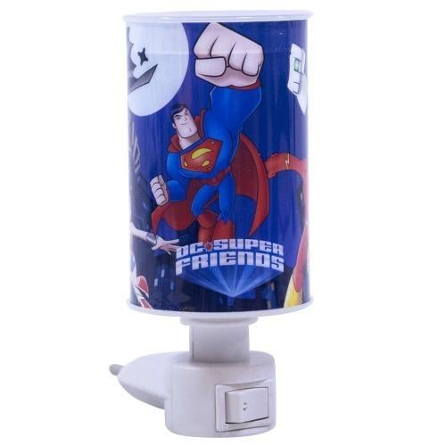 Mini Luminária Abajur Liga da Justiça