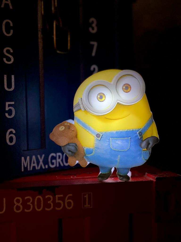 3D Mini Luminária Bob: Minions 3D Light FX