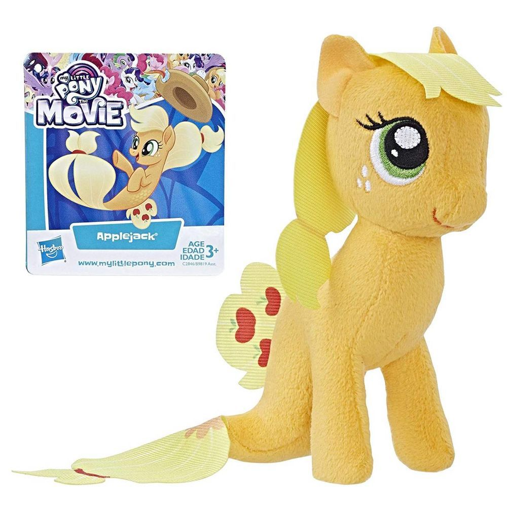 Mini Pelúcia Applejack: My Little Pony  - Hasbro