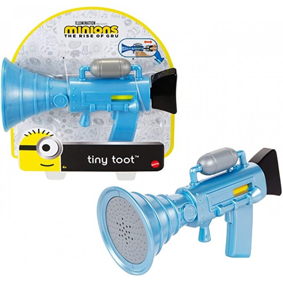 Mini Pistola Fratulentos Com Sons ''Tiny Toot'': Minions 2: A Origem de Gru - Mattel