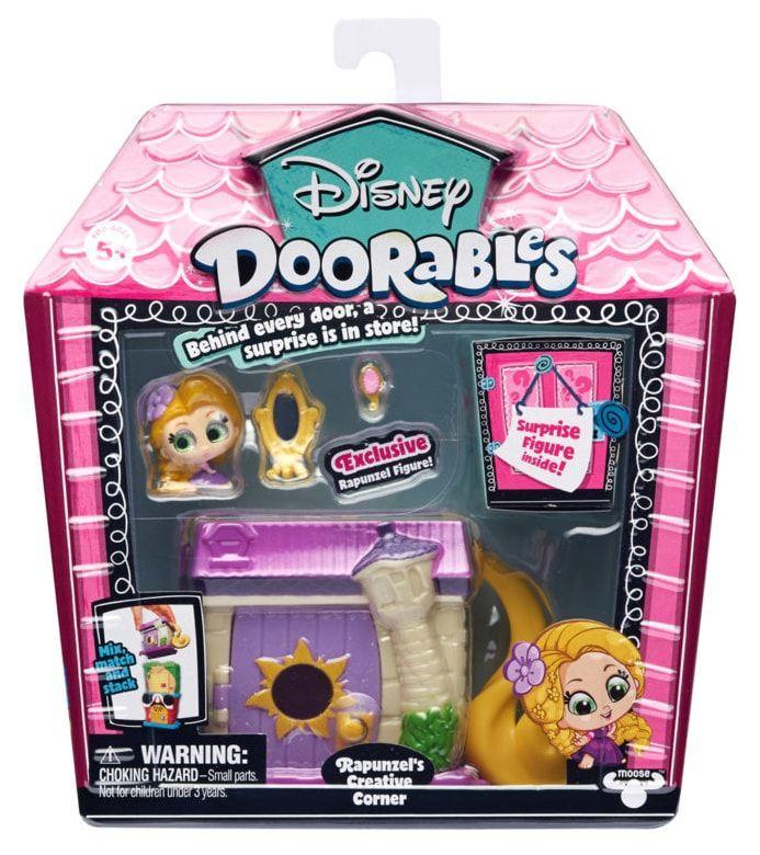 Mini Playset Doorables: Cantinho Criativo da Rapunzel (Disney) - DTC