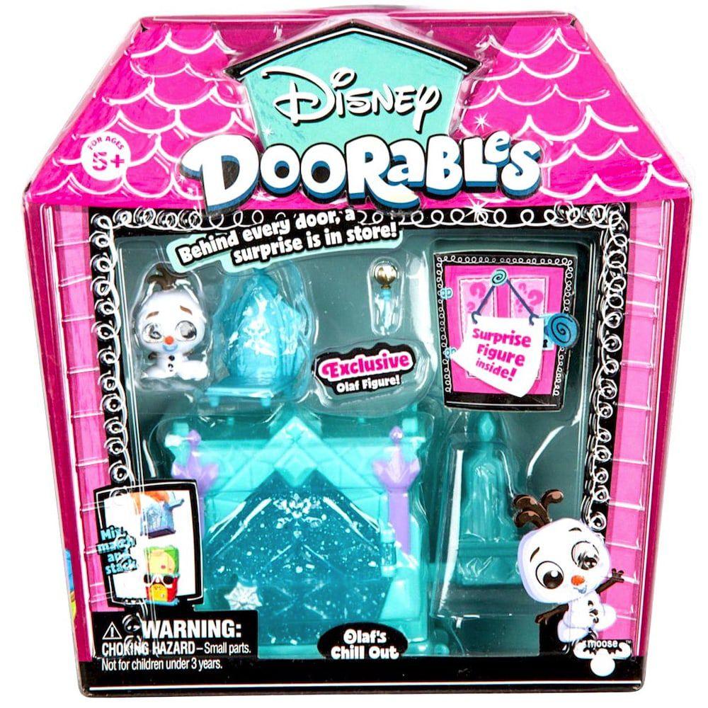 Mini Playset Doorables: Cantinho Do Olaf (Disney) - DTC