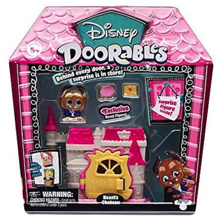 Mini Playset Doorables: Castelo da Fera (Disney) - DTC