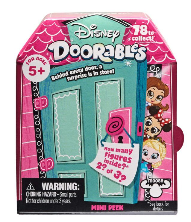 Mini Playset Doorables: Disney (Surpresa) - DTC