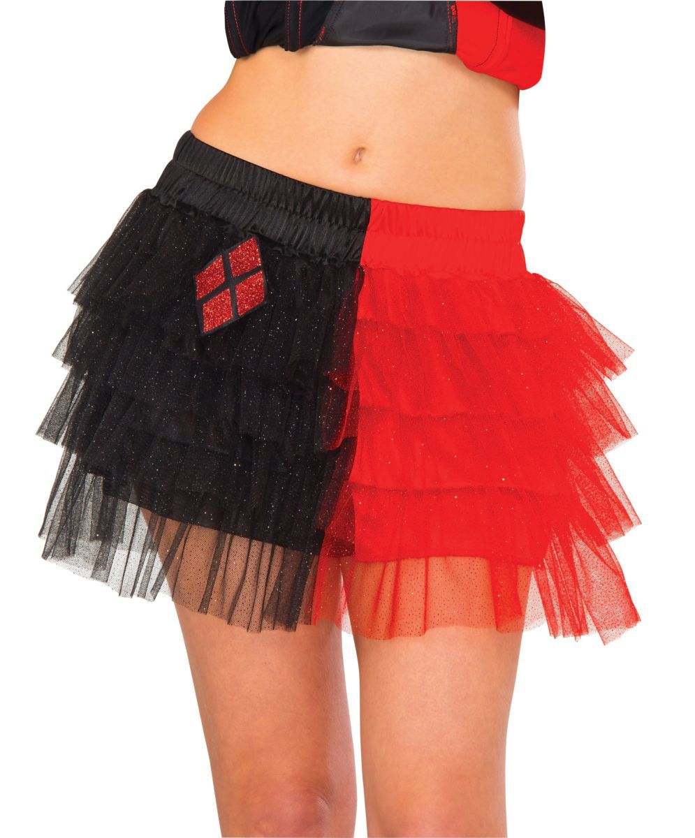 Mini-Saia Alerquina (Harley Quinn) Com Tutu - Rubies Costume - CD