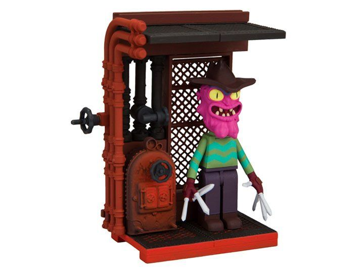 Mini Set de Construção Scary Terry: Rick and Morty (You Can Run But You Can't Hide) com 42 Peças - Mcfarlane Toys