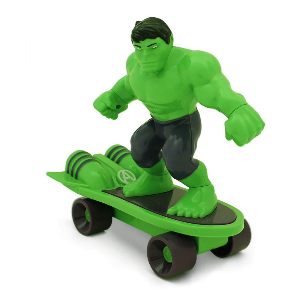 Mini Skate de Fricção Hulk: Vingadores (Avengers) - Toyng