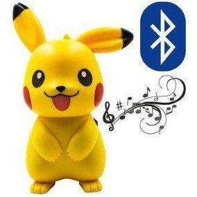 Mini speaker Caixa De Som Pikachu