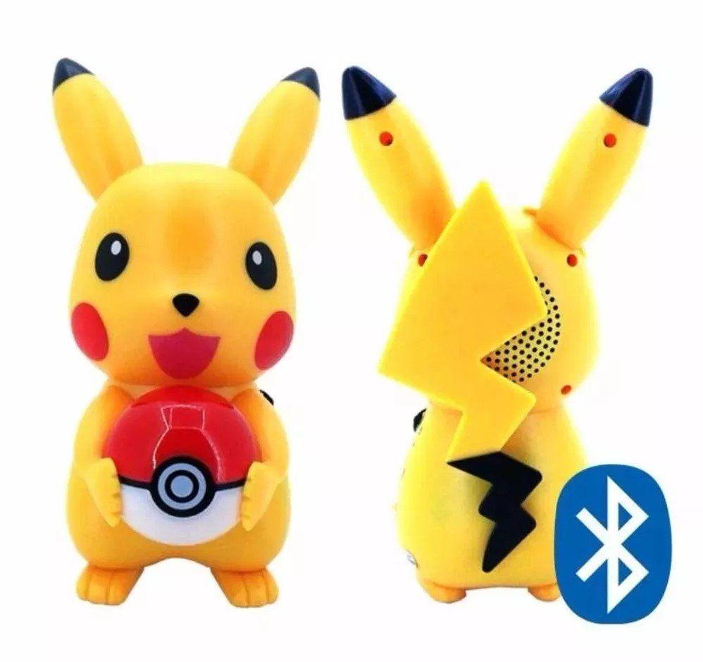 Mini speaker Caixa De Som Pikachu C POKEBOLA
