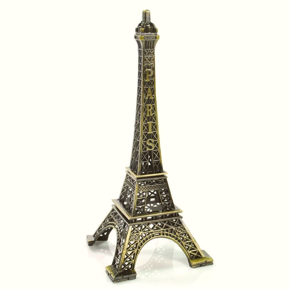 Mini Torre Eiffel Decorativa (Cobre)