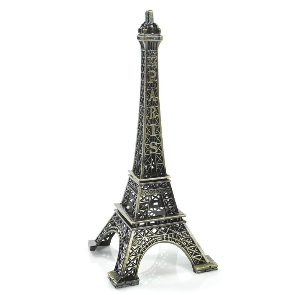 Mini Torre Eiffel Decorativa (Prata)