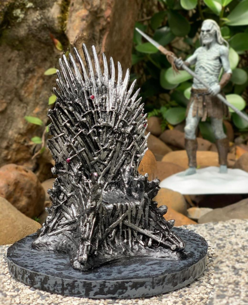 Mini Trono de Ferro (Iron Throne): Game of Thrones (20CM) - (Exclusivo Toyshow)