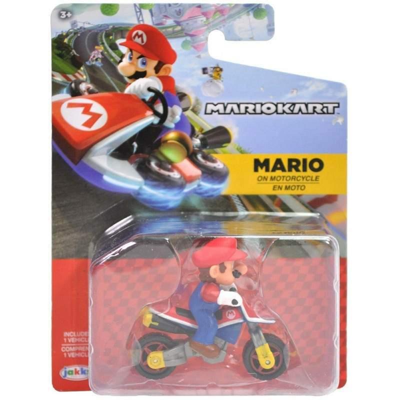 Mini Veiculo Mario Motocicleta: Mario Kart 8 - Jakks Pacific