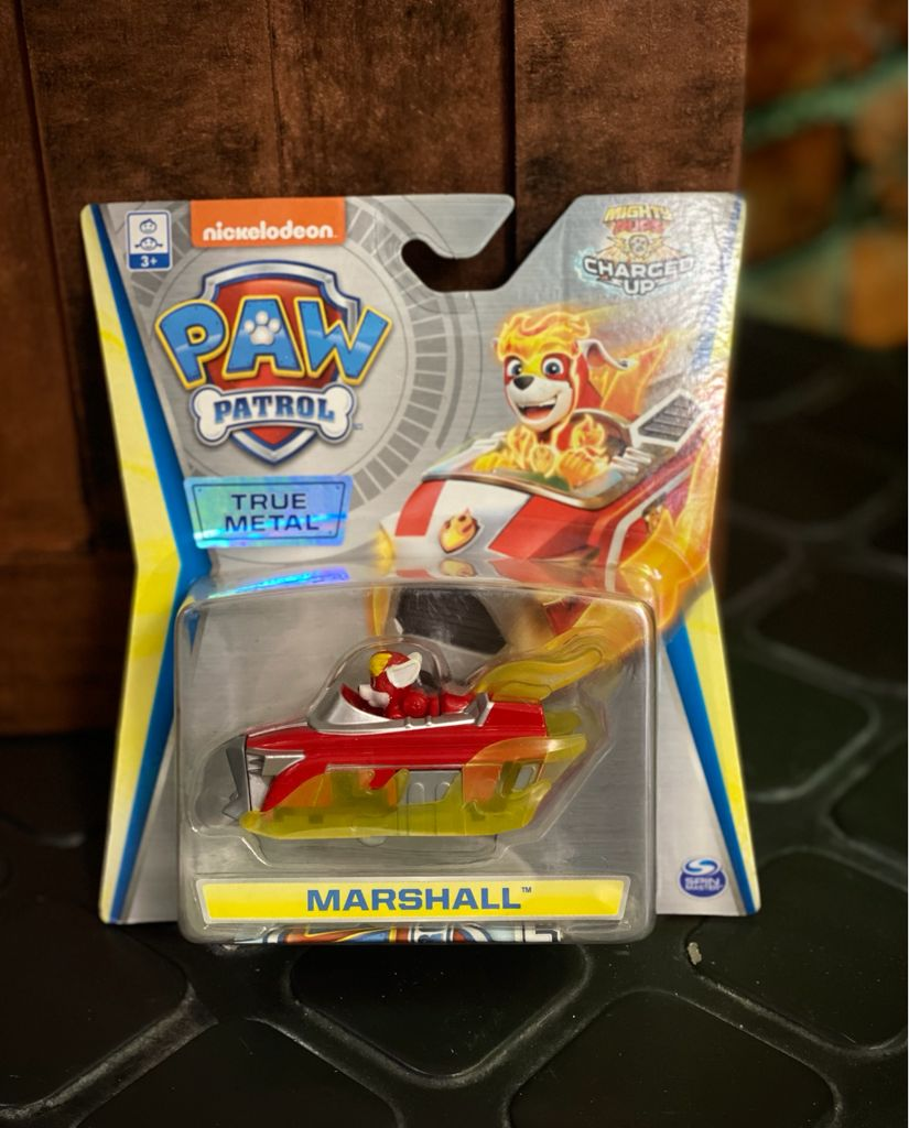 Mini Veículo Metal Patrulha Canina (Paw Patrol) Resgate Extremo - Marshall Charged Up - Sunny