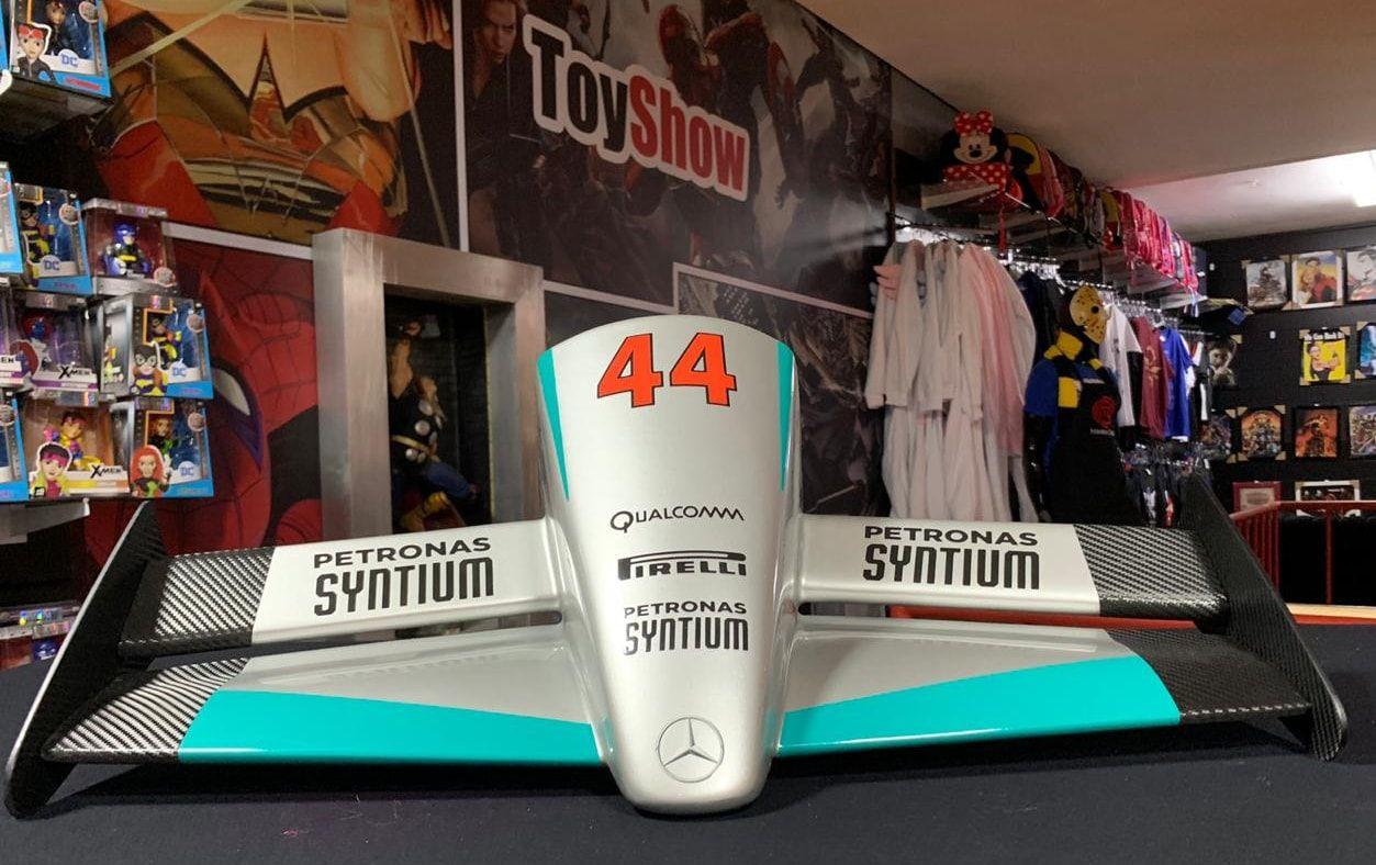 Miniatura Bico Fórmula 1 (F1): Mercedes-AMG Motorsport (Lewis Hamilton) - CG