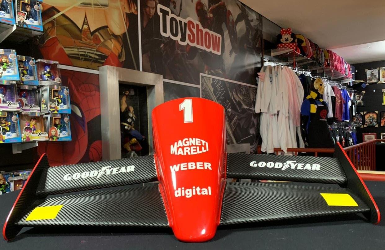 Miniatura Bico Fórmula 1 (F1): Scuderia Ferrari (Alain Prost) - CG