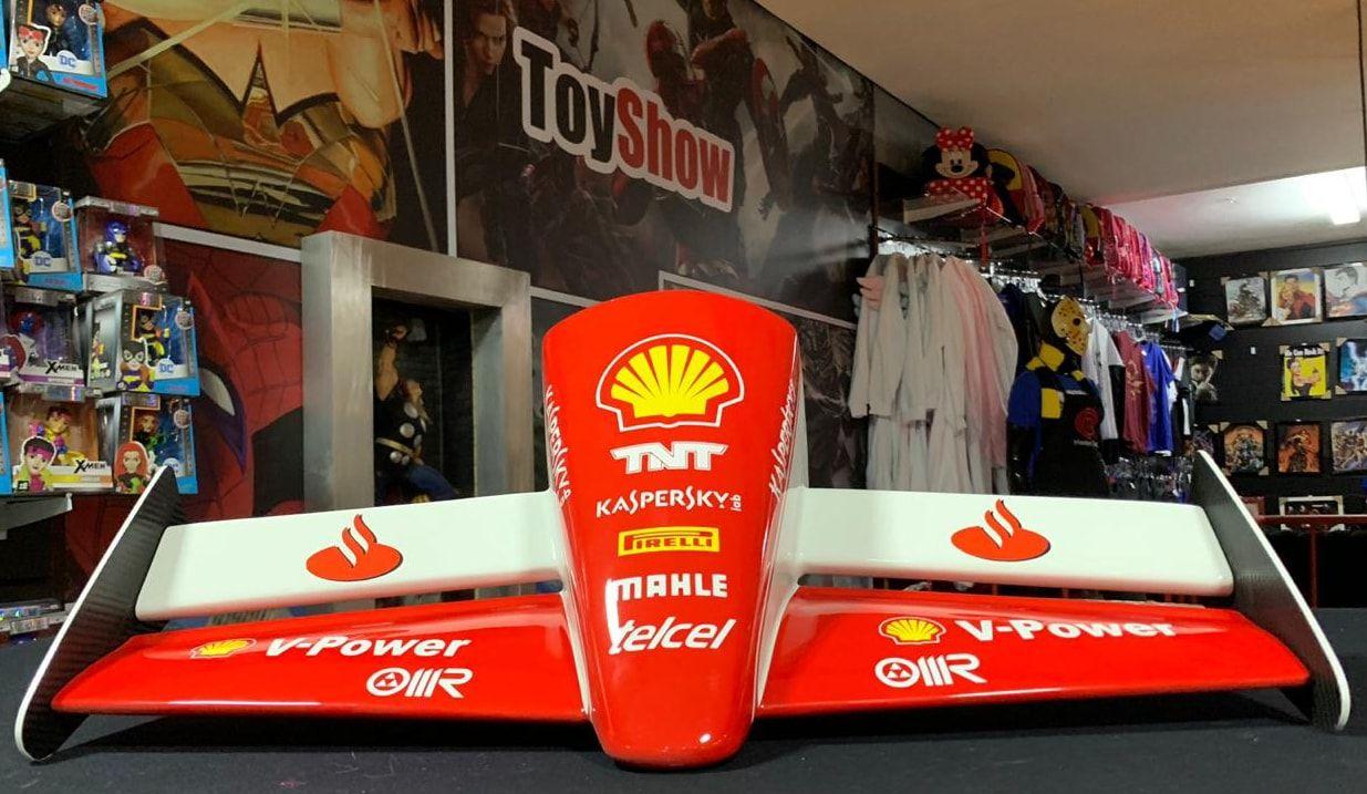 Miniatura Bico Fórmula 1 (F1): Scuderia Ferrari (Sebastian Vettel) - CG