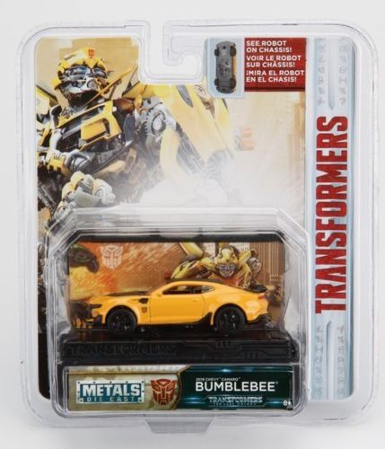 Miniatura Bumblebee: Transformers (Collector´s Series) Escala 1/64 - Jada