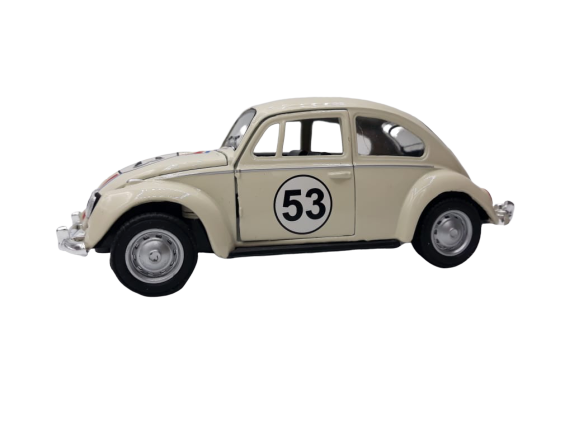 Miniatura Carro de Fricção Herbie: Herbie Meu Fusca Turbinado Escala 1:32