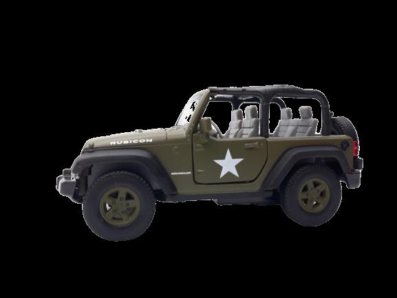 Miniatura Carro de Fricção Jeep