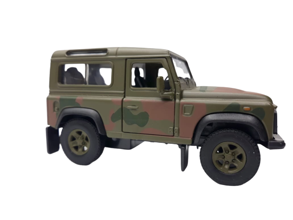 Miniatura Carro de Fricção Jeep Camuflado (Exército)1:32
